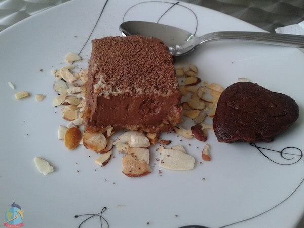 Vegan chocolate dessert in Puro Love- Panama Guia Vegana