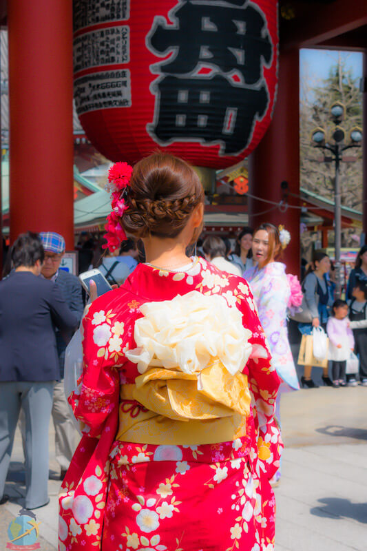 kimono, asakusa