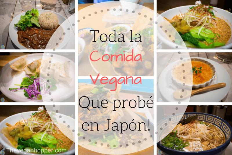 Comida vegana en Japon