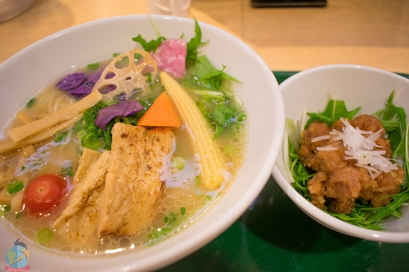 Vegan Ramen in Japan- T's Tan tan