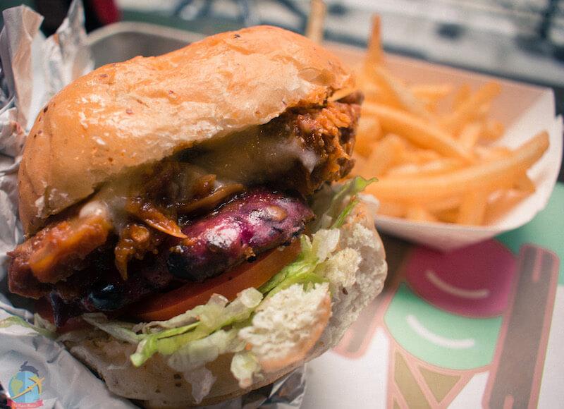 Vegan burger en Toronto