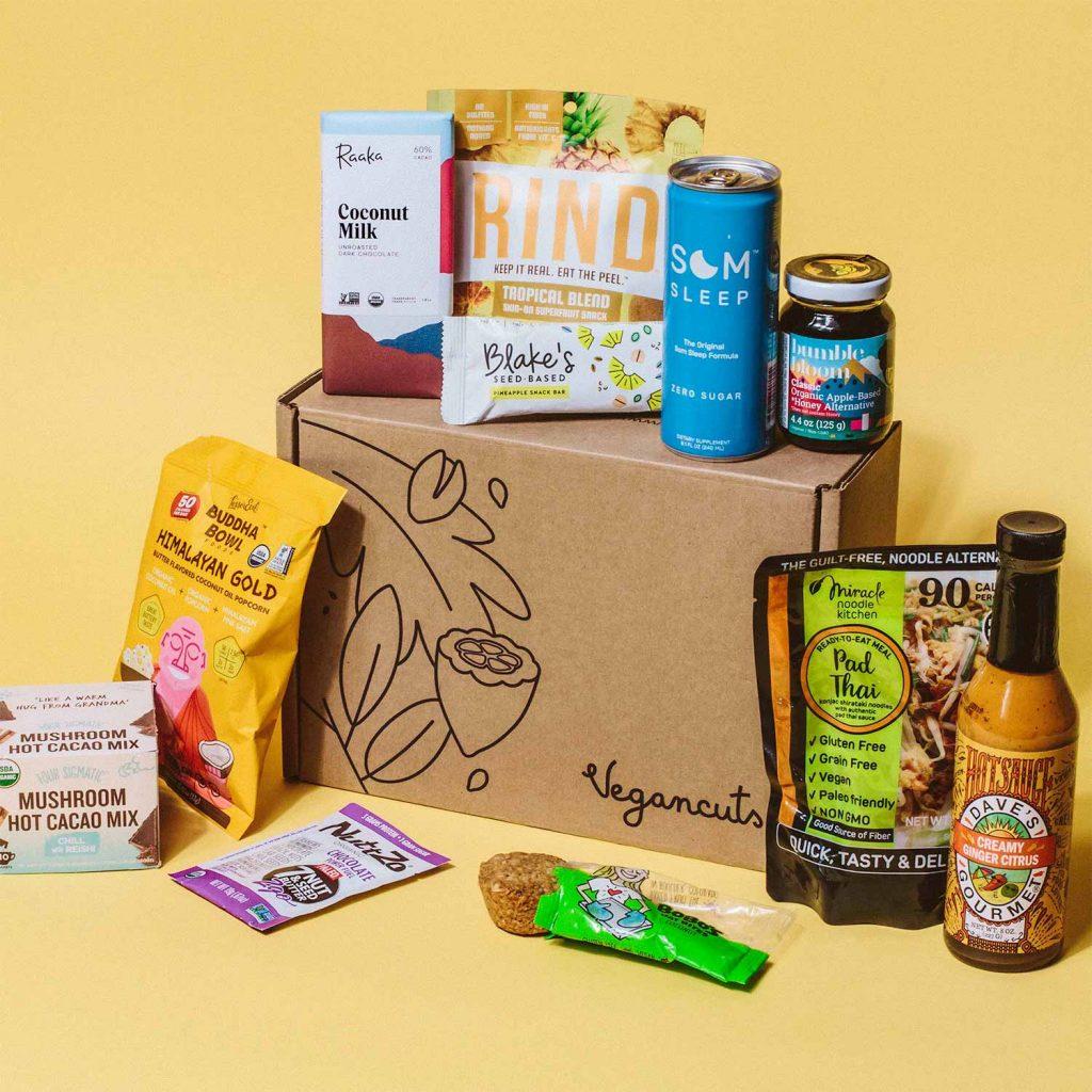 caja vegana- Vegan cuts snacks box