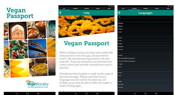 apps para veganos- Vegan Passport
