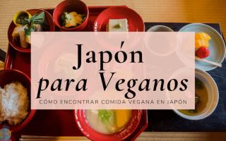 Japon comida vegana