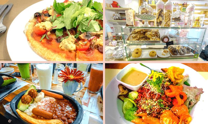 Comida vegana en Bogota