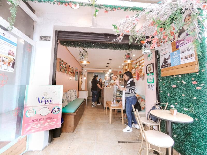 Pasteleria vegana en Bogota, Frambuesa vegan