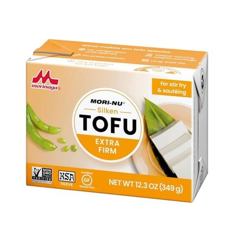 Tofu silken extra firme en empaque