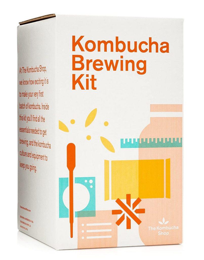 caja de kit para hacer kombucha