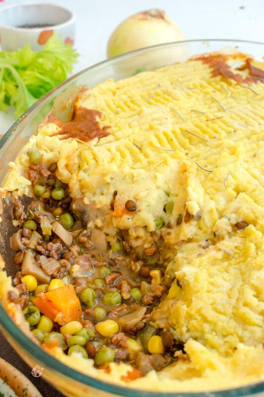 Shepherd's pie vegano