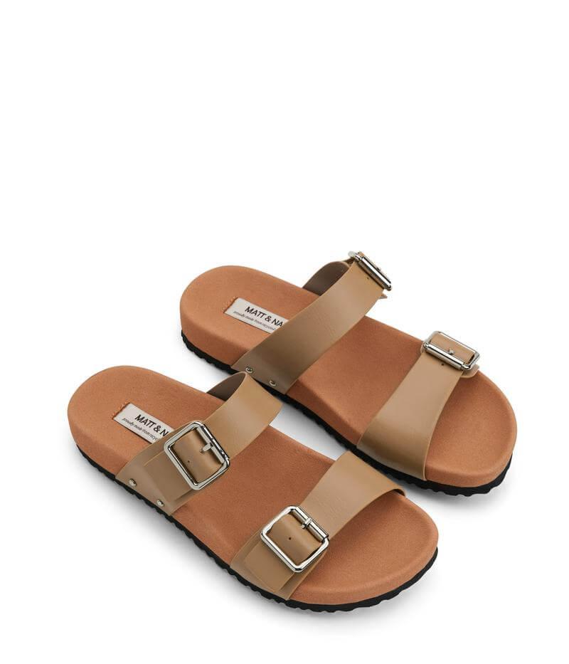 Sandalias color crema